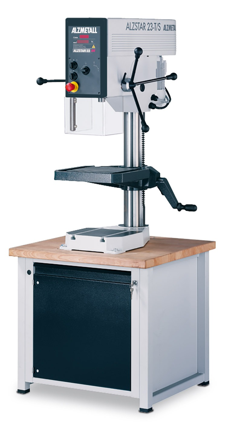 Bild der Alzmetall Alzstar 23-T/S Tischbohrmaschine