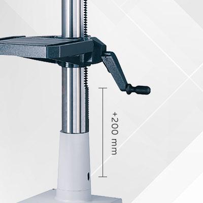 AX-Option 42: Säule verlängert  (200mm)