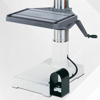 Geschwindeschneideinrichtung als Option für Alzmetall AX 3/SV Säulenbohrmaschinen