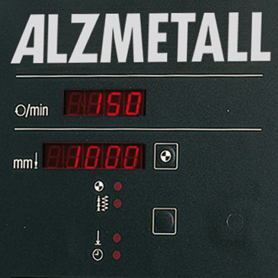 Digitale Bohrtiefenanzeige als Option für Alzmetall AX 3/SV Säulenbohrmaschinen