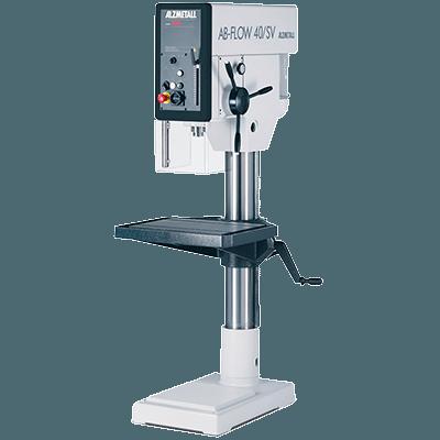 Alzmetall Säulenbohrmaschinen und Halbständerbohrmaschinen der ALZFLOW-AB-Serie