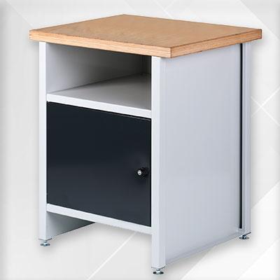 ALZSTAR-Option: Unterschrank für die Tischbohrmaschinen
