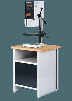 Bild der Alzmetall ALZTRONIC 14 Tischbohrmaschine