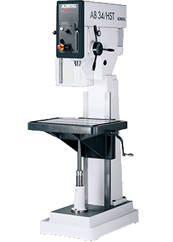 Alzmetall AB 34/HST Halbständerbohrmaschine mit Vorschub