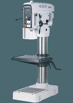 Alzmetall AB 50/SV Säulenbohrmaschine mit Vorschub
