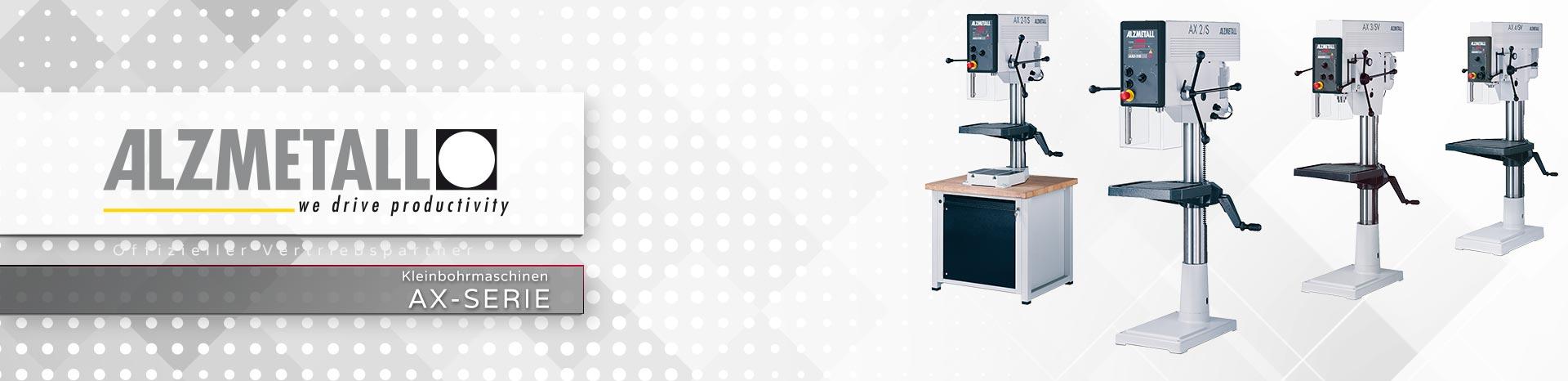 Die AX-Serie in der Übersicht | Säulen- und Tischbohrmaschinen