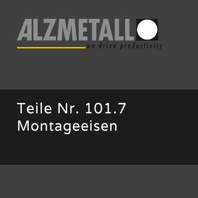 AB-Option 101.7: Montageeisen