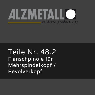 AB-Option 48.2: Flanschpinole
