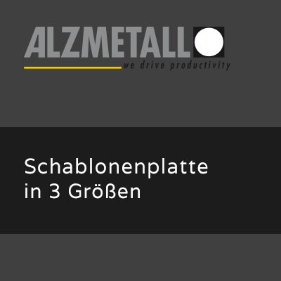 AB-Option: Schablonenplatte