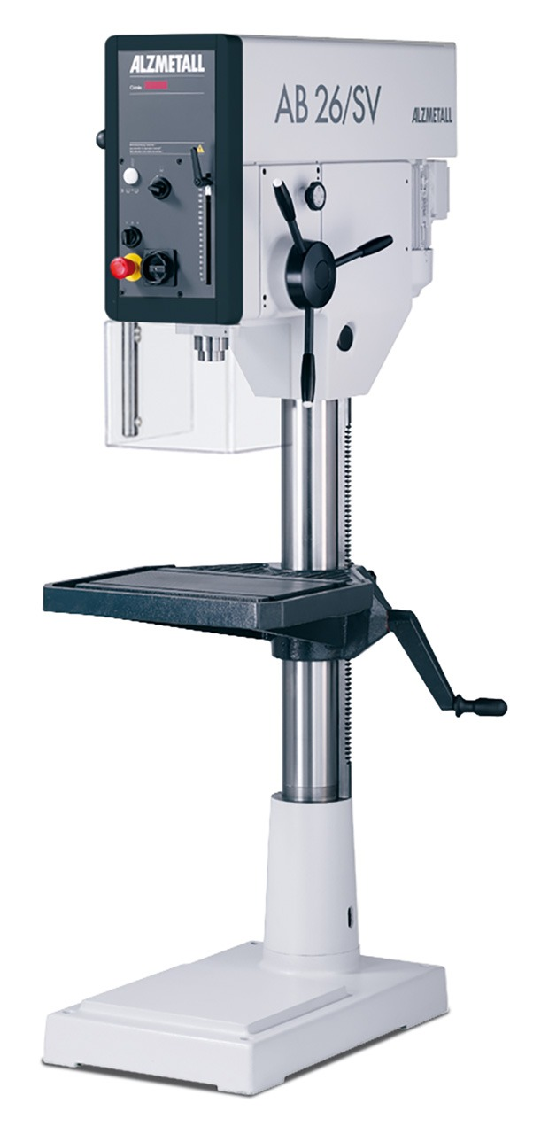 Alzmetall AB 26 Säulenbohrmaschine mit Vorschub