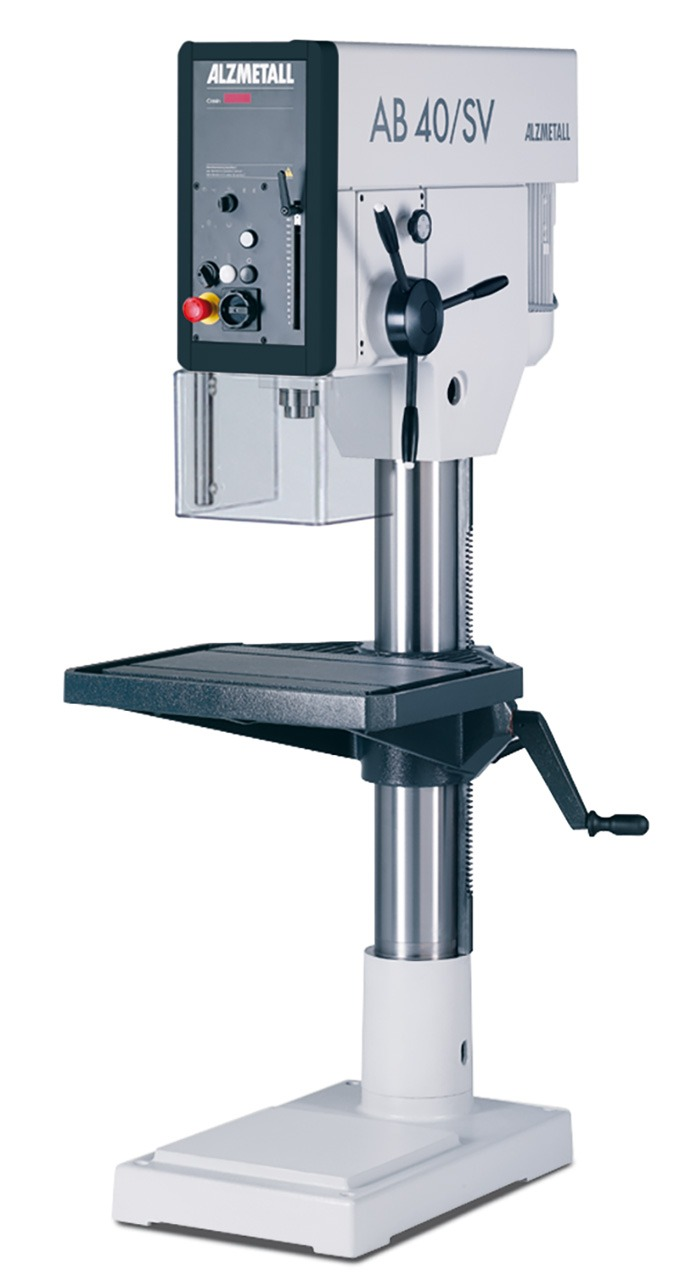 Alzmetall AB 40/SV Säulenbohrmaschine mit Vorschub
