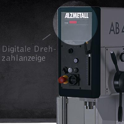 Highlight: Digitale Drehzahlanzeige der AB 50/HST