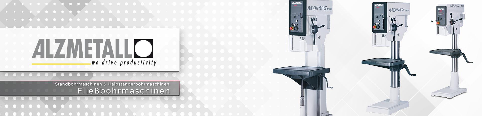 Die ALZFLOW-Serie in der Übersicht | Fließbohrmaschinen
