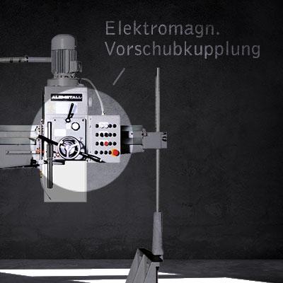 Elektromagnetische Vorschubkupplung als Highlight der AB 30/R-Modelle