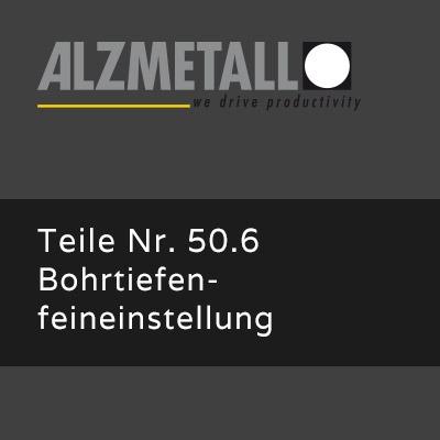 AB-30/R Option: Bohrtiefenfeineinstellung und Bohrtiefenfestanschlag