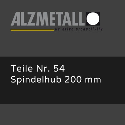 AB-30/R Option: Spindelhub