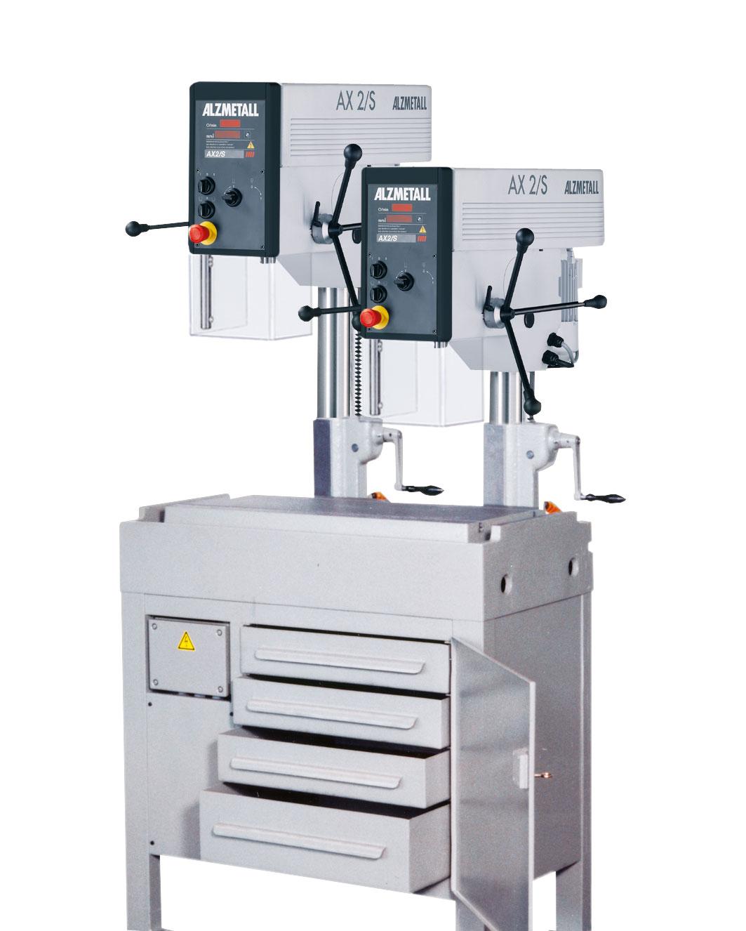 Bild der Alzmetall RFT 2 Reihenbohrmaschine