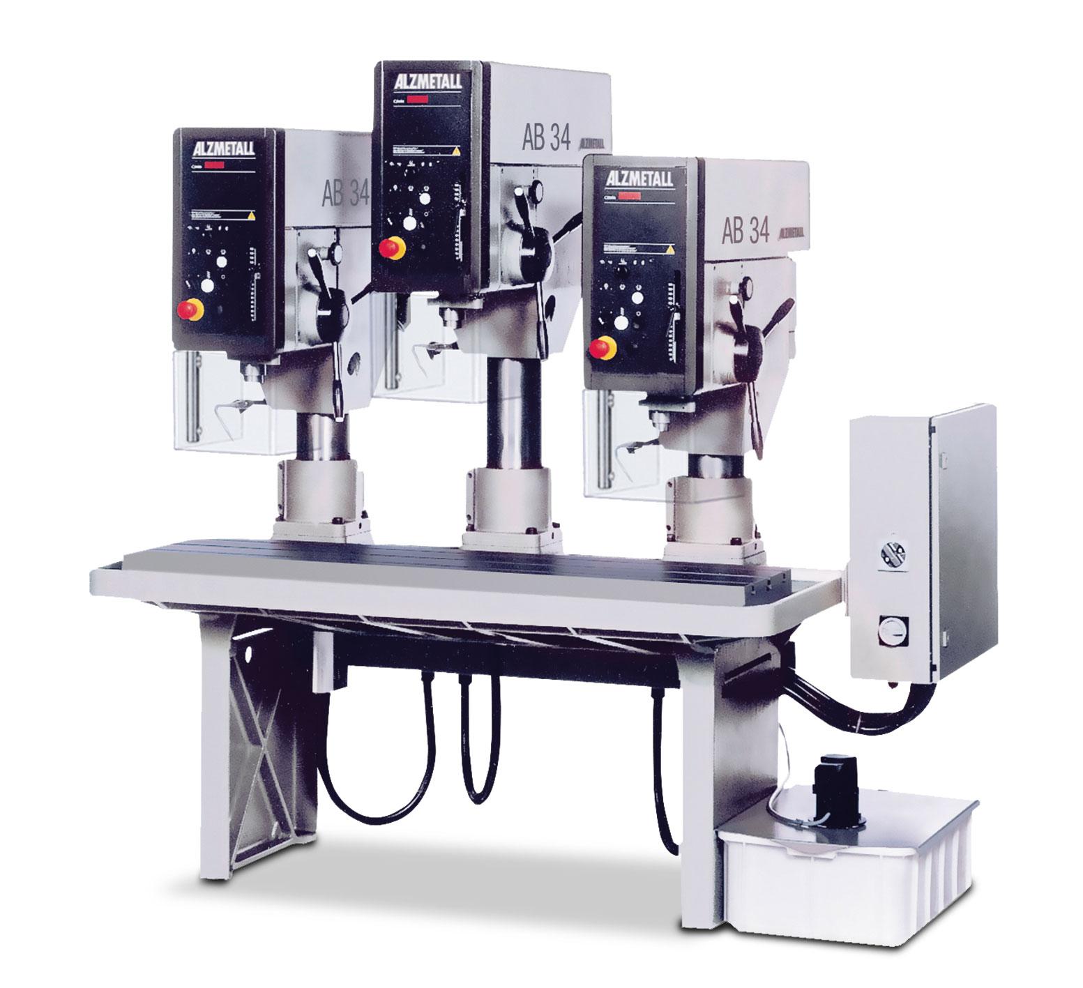 Bild der Alzmetall RFT 3 Reihenbohrmaschine