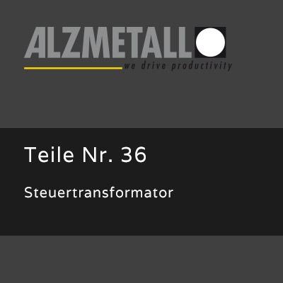 Steuertransformator als Option für die RFT 2-Serie