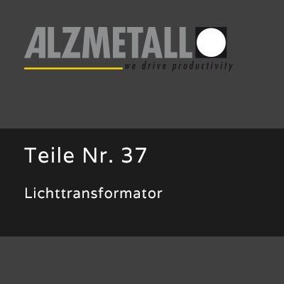 Lichttransformator als Option für Alzmetall RFT 2