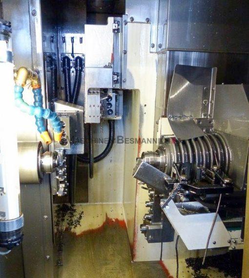 CNC Dreh- und Fräszentrum Gildemeister Sprint 32 Linear inkl, FMB Stangenlader