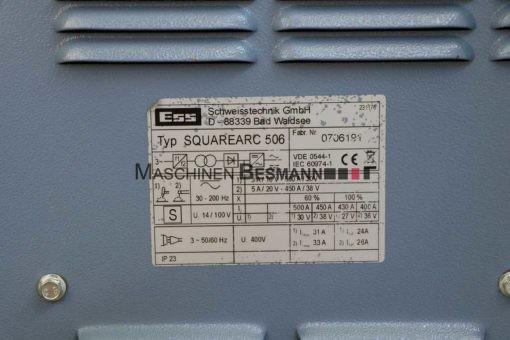 WIG Schweissgerät ac-dc ess SQUAREARC 506